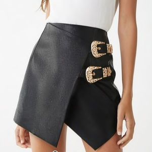Beautiful faux leather skirt! BRAND NEW!